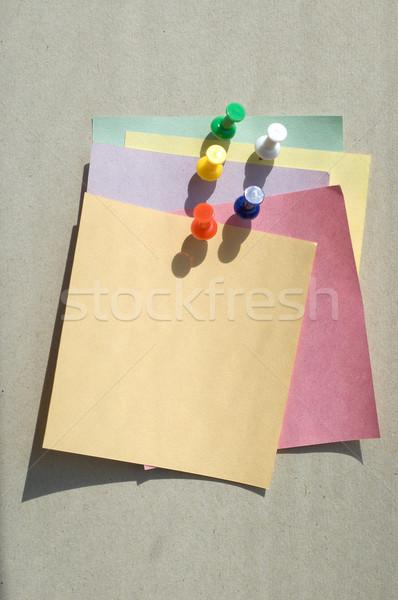Szín levélpapír háttér oktatás kommunikáció információ Stock fotó © mycola