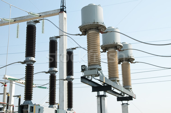 業界 工場 産業 エネルギー 電気 回路 ストックフォト © mycola