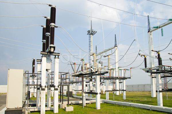 általános kilátás ipar gyár ipari energia Stock fotó © mycola