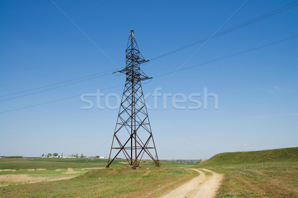 power transmission tower Stock photo © mycola