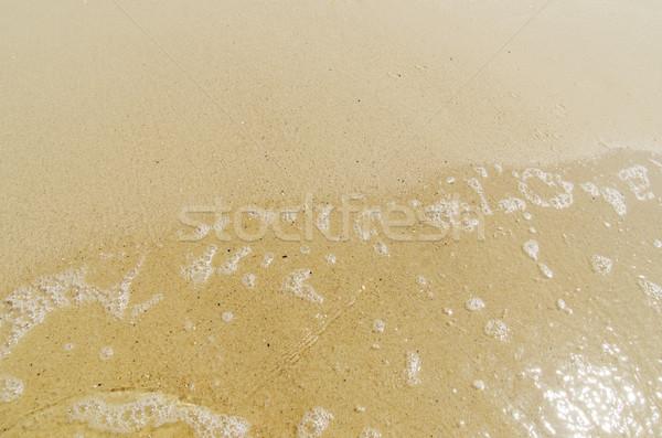 Umido sabbia acqua spiaggia mare design Foto d'archivio © mycola