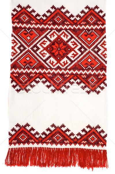 embroidered good Stock photo © mycola