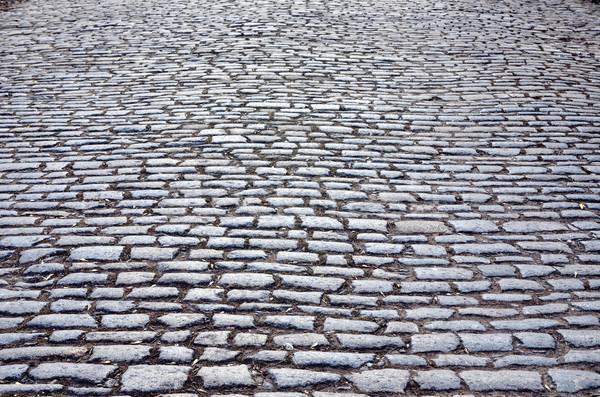 cobbled road Stock photo © mycola