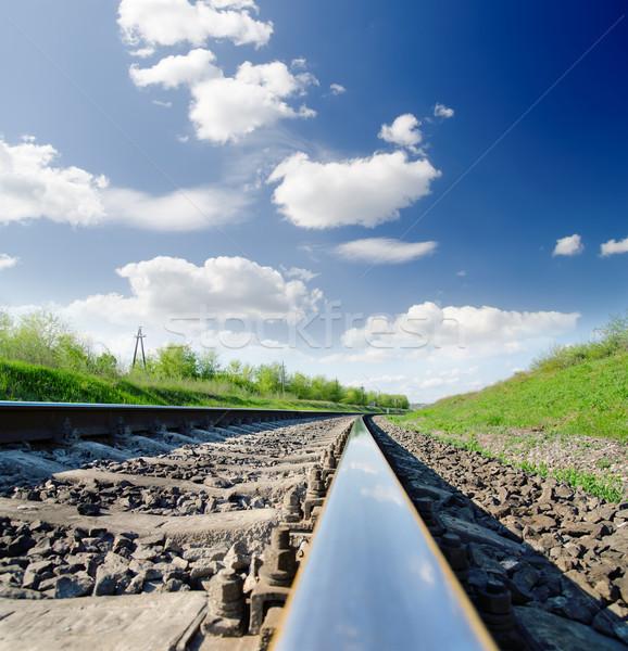 low angle view of railway Stock photo © mycola