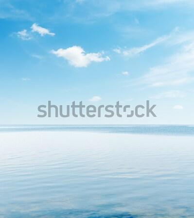Cielo blu serena mare acqua luce sfondo Foto d'archivio © mycola