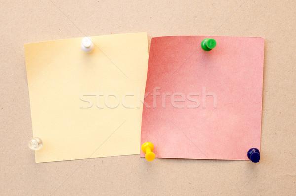 Szín levélpapír háttér oktatás űr kommunikáció Stock fotó © mycola