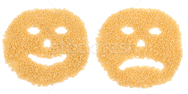 attractives smiling and crying pasta Stock photo © mycola
