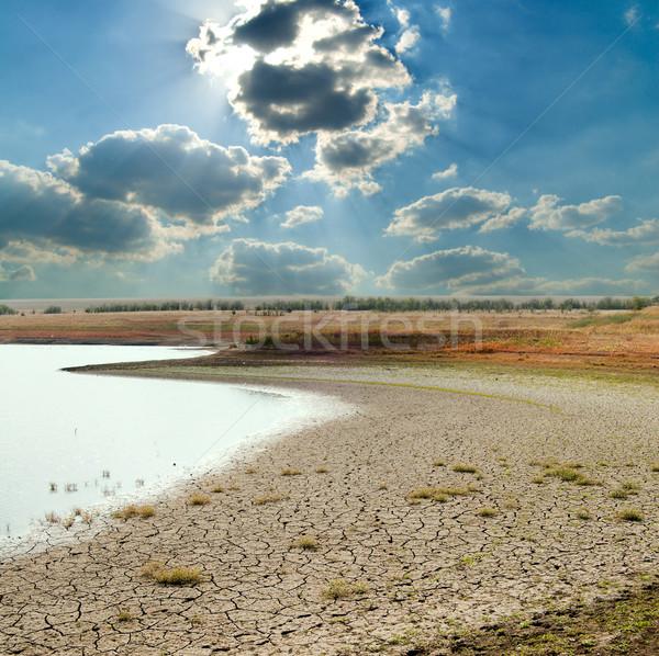 Természetes szerencsétlenség éghajlat nap természet nyár Stock fotó © mycola