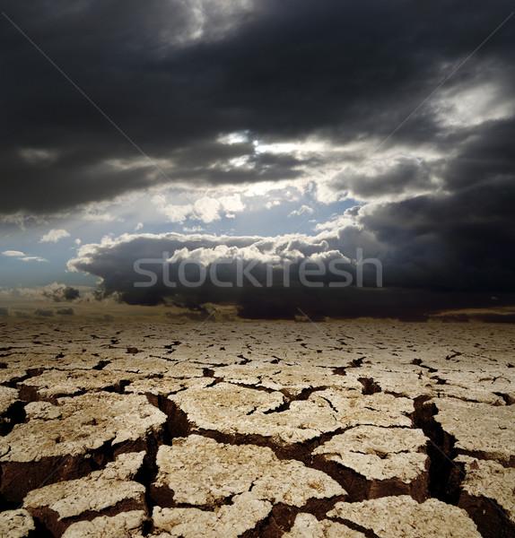 драматический небе засуха земле текстуры аннотация Сток-фото © mycola