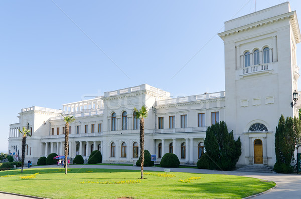Livadia palace, Crimea, Ukraine Stock photo © mycola