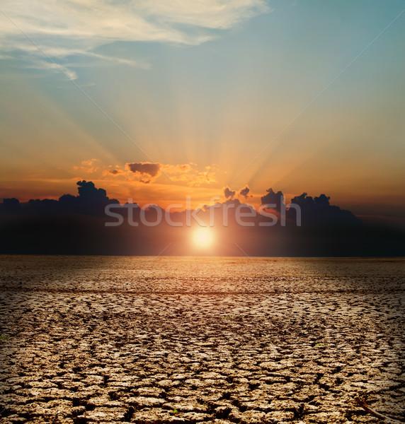 natural disaster Stock photo © mycola