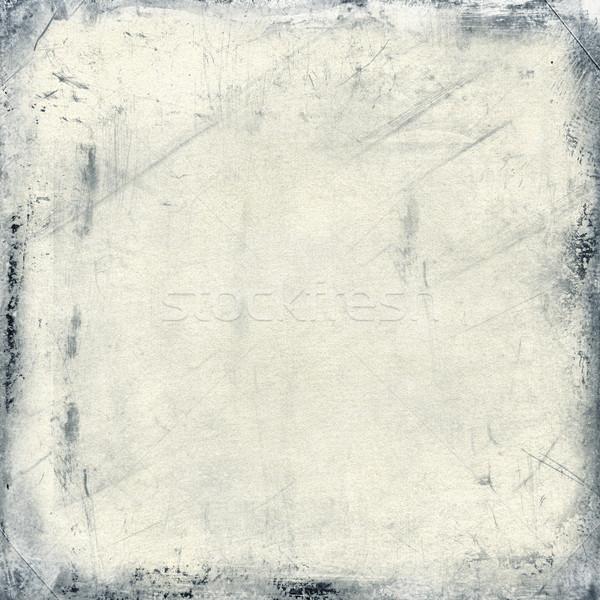 серый щетка текстуры искусства черный шаблон Сток-фото © myfh88