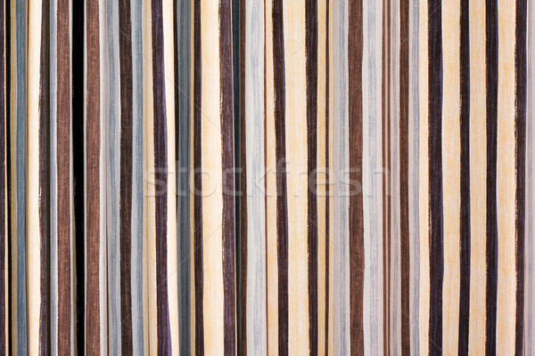 Textiles tissu stripe texture noir Photo stock © myfh88