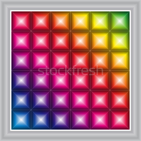 Vector LED display background  Stock photo © myfh88