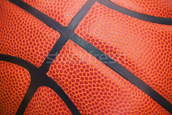 Primer plano detalle baloncesto pelota textura Foto stock © myfh88