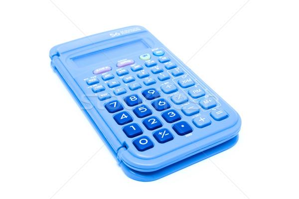 калькулятор изолированный бизнеса служба деньги технологий Сток-фото © myfh88