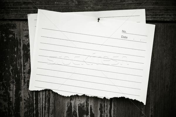 Papieru drewna Zdjęcia stock © myfh88
