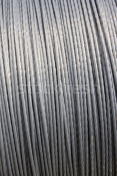 Steel wire cable Stock photo © myfh88