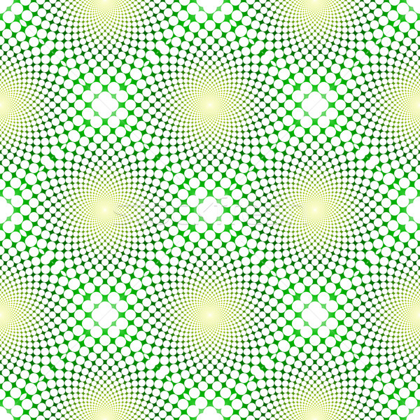 Cyclic optical illusion (Vector) Stock photo © myfh88