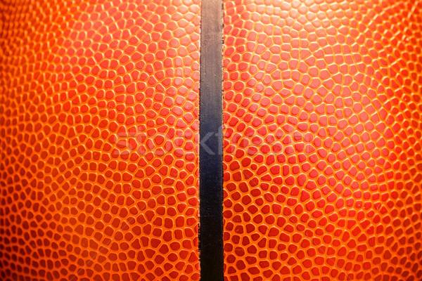 подробность баскетбол мяча текстуры Сток-фото © myfh88