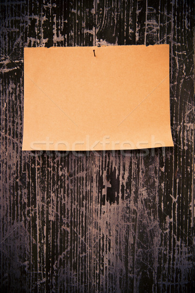 Vechi hartie de ambalaj lemn bord perete fundal Imagine de stoc © myfh88