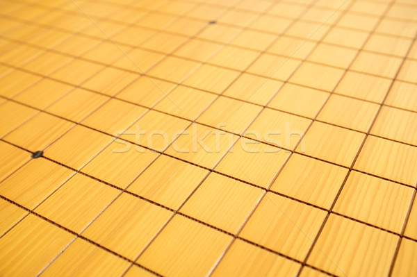 Blnak go game chessboard background in China Stock photo © myfh88