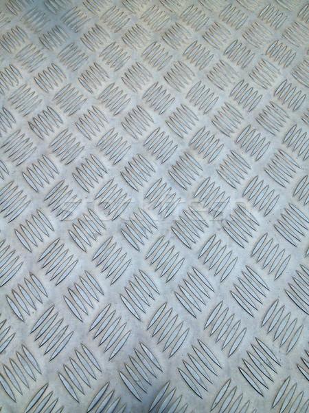 Stock photo: Metal diamond plate texture background
