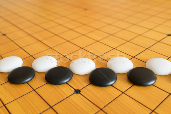Gry chińczyk gra planszowa tekstury tle przestrzeni Zdjęcia stock © myfh88
