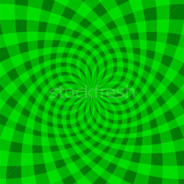 Vector Cyclic optical illusion Stock photo © myfh88