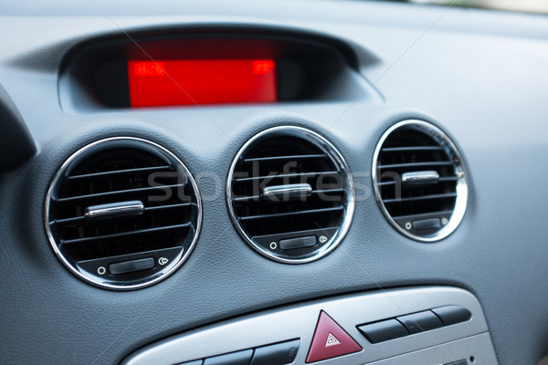 Air conditioner in car Stock photo © myfh88