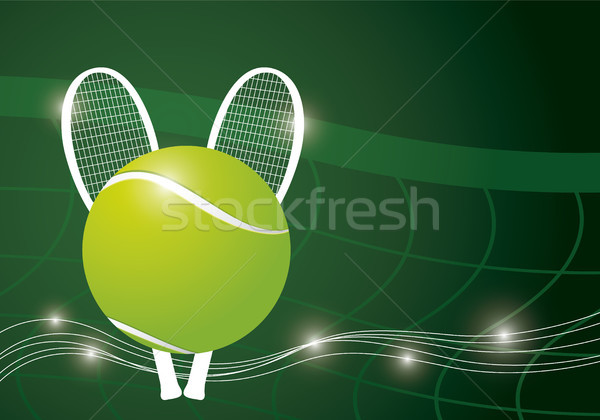 Tennis background design Stock photo © myimagine