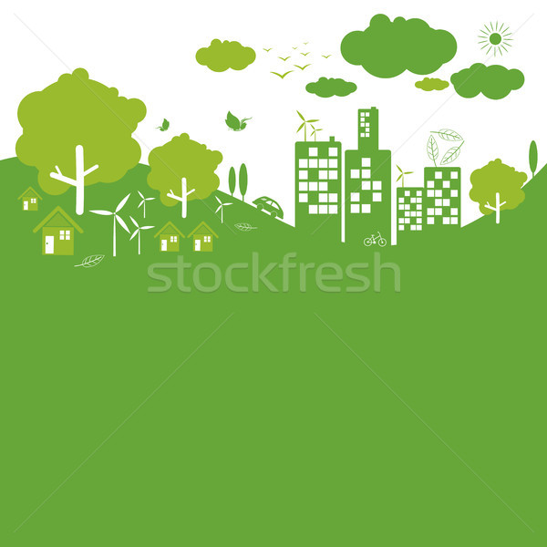 Ecology concepts Stock photo © myimagine