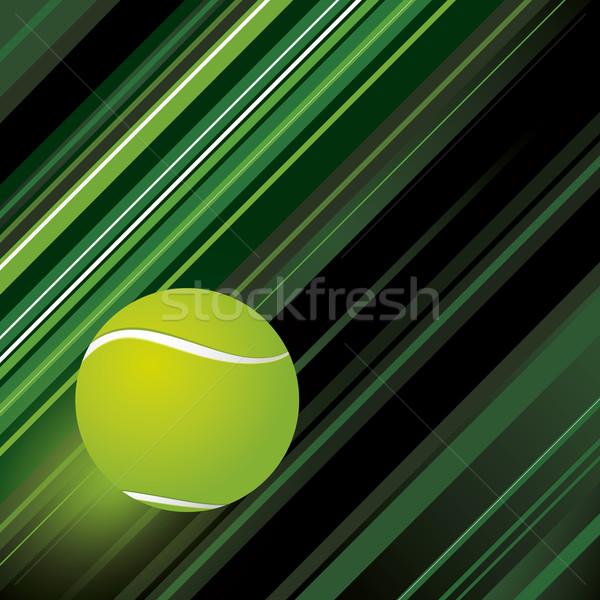 Tenis dizayn arka plan yeşil hızlandırmak hareket Stok fotoğraf © myimagine