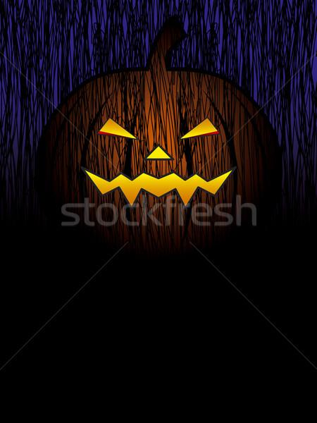 Cadılar bayramı kabak dizayn doku ışık çizim kutlama Stok fotoğraf © myimagine