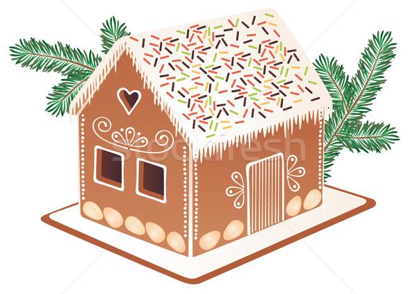 Gingerbread house Stock photo © MyosotisRock