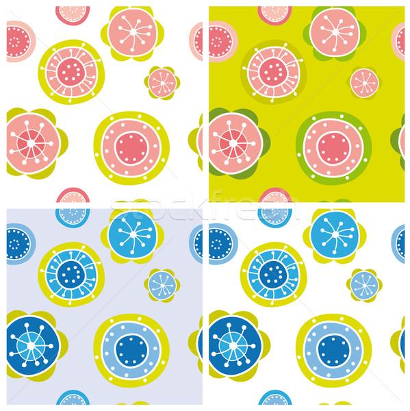 Floral pattern Stock photo © MyosotisRock