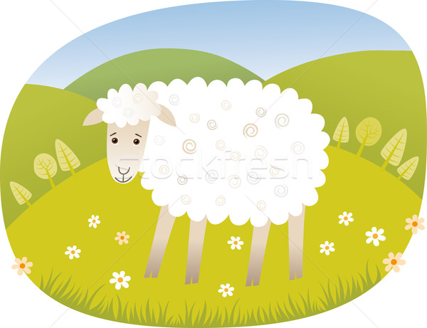 Sheep Stock photo © MyosotisRock
