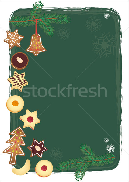 Christmas background Stock photo © MyosotisRock