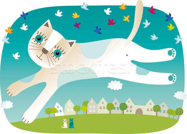 Cat Stock photo © MyosotisRock