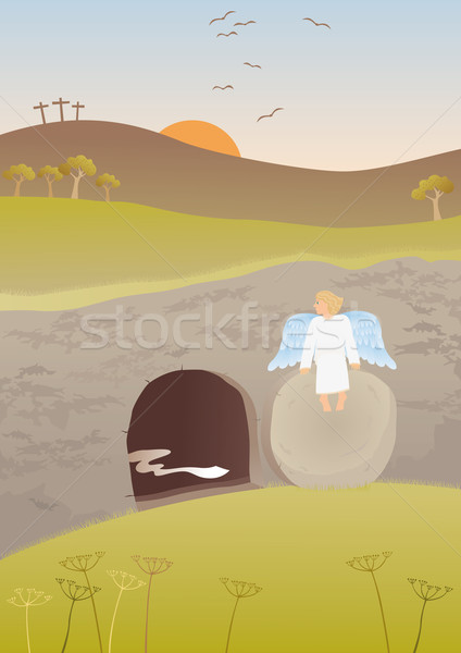 Empty tomb Stock photo © MyosotisRock