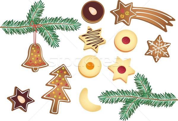 Christmas cookies Stock photo © MyosotisRock