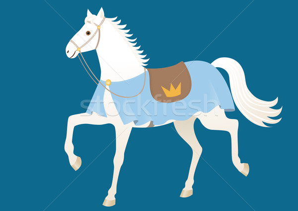 Stock photo: Royal horse