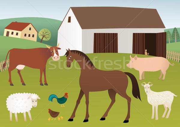 Farm Stock photo © MyosotisRock