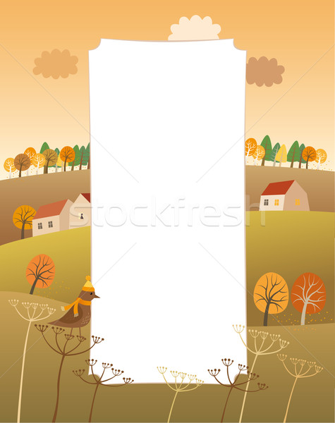 Stock photo: Label with a copy space