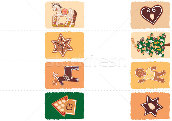 Christmas tags Stock photo © MyosotisRock