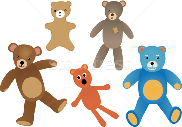 Teddy bears Stock photo © MyosotisRock