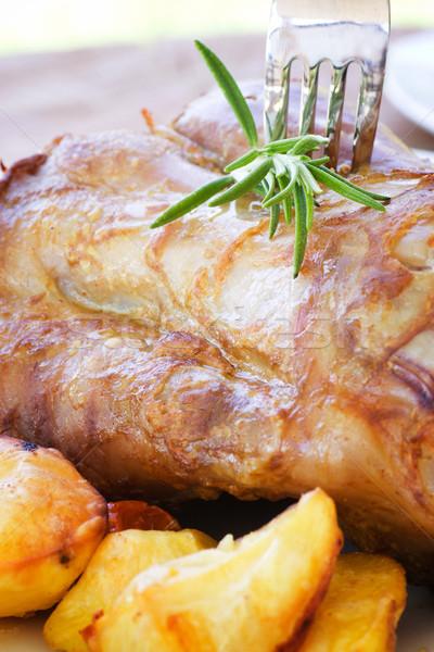 Ternera patatas delicioso alimentos Foto stock © mythja