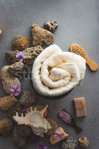 Spa Natural Concept. Dayspa Cosmetics Products. Stock photo © mythja