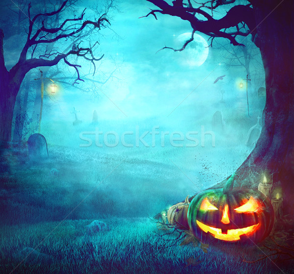 Halloween Spooky Background Stock photo © mythja