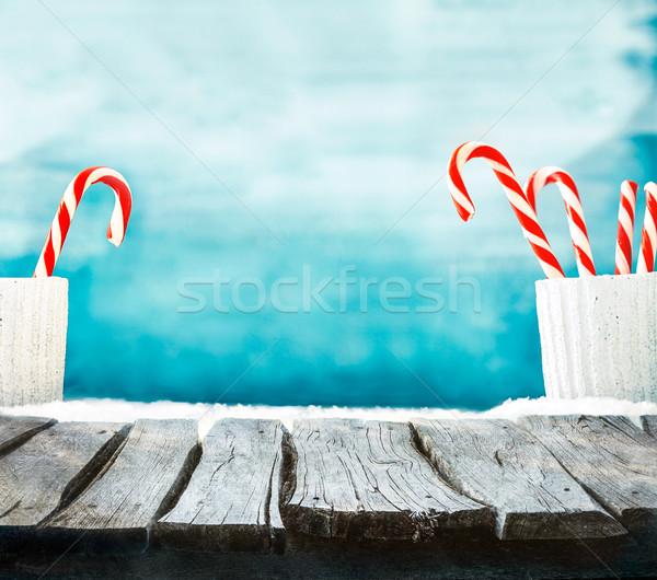 Christmas background Stock photo © mythja